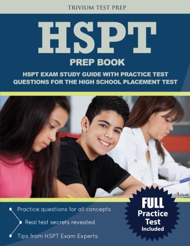 Hspt Prep Book Hspt Exam Study Guide With Practice Test Questions For The High School Placement Test