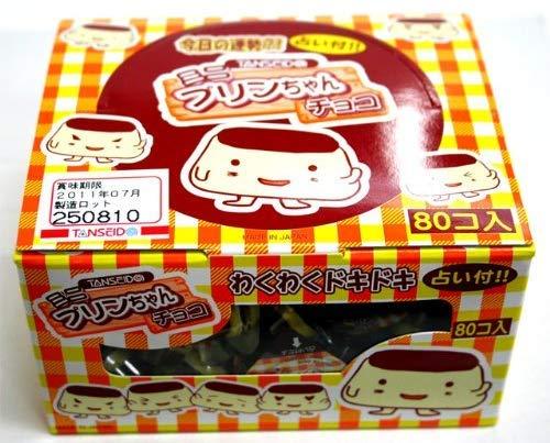 占い付きプリンちゃんチョコ 80個入【駄菓子】