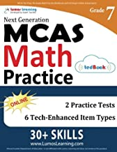 MCAS Test Prep: 7th Grade Math Practice Workbook and Full-length Online Assessments: Next Generation Massachusetts Comprehensive Assessment System Study Guide