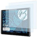Bruni Schutzfolie kompatibel mit HP Pro Slate 12 Folie, glasklare Bildschirmschutzfolie (2X)