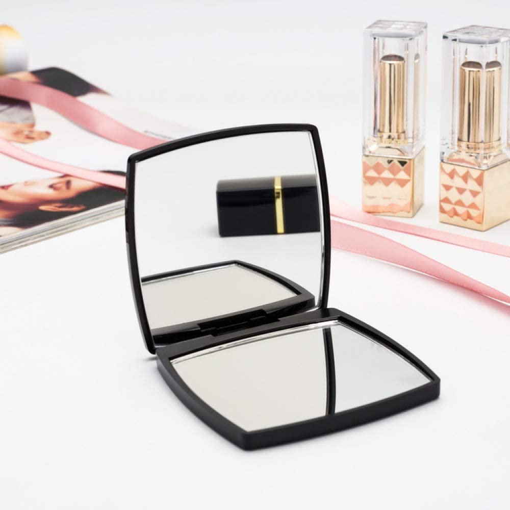 OPLDSA Mini Mirror Square Shape Double Sides Girl In stock 70% OFF Outlet Portable Mirro
