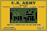 Pin-iT ミリタリーユニフォームツール (アーミーピン-ITカード)