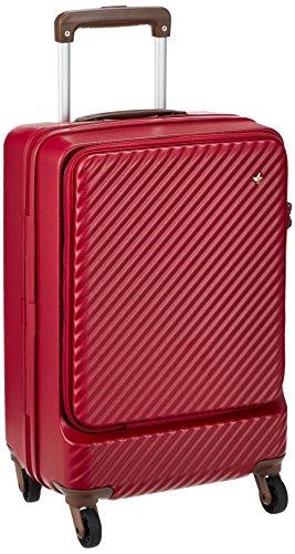 [ハント] スーツケース ミオ フロントポケット 13inchPC対応ポケット付 05750 機内持ち込み可 34L 48 cm 3.3kg レッド