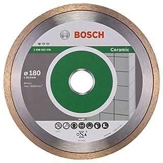 Bosch Professional Diamanttrennscheibe Standard für Ceramic, 180 x 25,40 x 1,6 x 7 mm, 2608602536 (B0053PVY9S) | Amazon price tracker / tracking, Amazon price history charts, Amazon price watches, Amazon price drop alerts