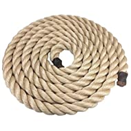 20mm Synthetic Sisal Decking Rope x 8 Metres Sisal Rope For Decking Garden & Boating