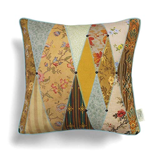 The Chateau by Angel Strawbridge 1 x MUSEUM Feather Filled Cushion 43 x 43cm