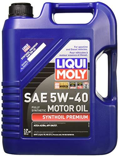 Liqui Moly 2041 Premium 5W-40 Synthetic Motor Oil - 5 Liter