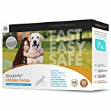 Electric Dog Fence and Pet Containment System In-Ground or Above Ground Installation - Rechargeable...