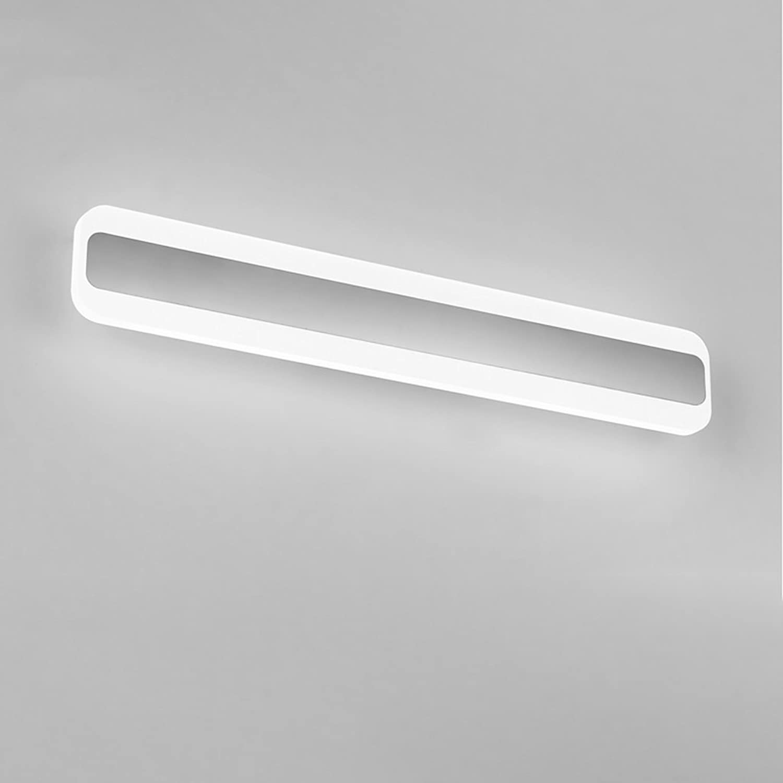 LED, Spiegelfrontlicht, Spiegelkabinettlicht, Badezimmer-Wandleuchte, wasserdichter und Anti-Nebel Badezimmer-Spiegel-Licht, warmes weies Licht 14W, 40cm ( Farbe   40cm Weiß light )