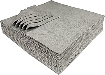 25 Pack Udderly Clean Silver Embedded Cleaning Microfiber Towels