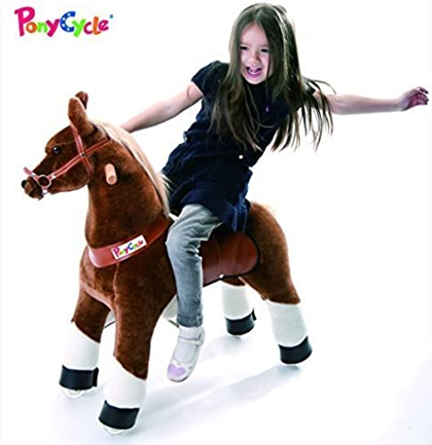 alta calidad Smart Smart Smart Gear Pony Cycle Chocolate, Light marrón, or marrón Horse Riding Toy  2 Tallas  World's First Simulated Riding Toy for kids Age 4-9 Years Ponycycle ride-on medium by Smart Gear  100% precio garantizado
