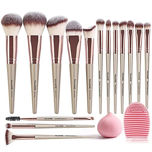 Brochas Maquillaje Rostro marca MAANGE