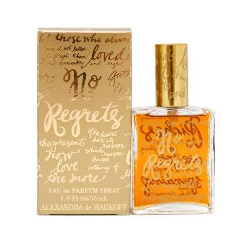 No Regrets By Alexandra De Markoff For Women. Eau De Toilette Spray 1.9 Oz / 56 Ml