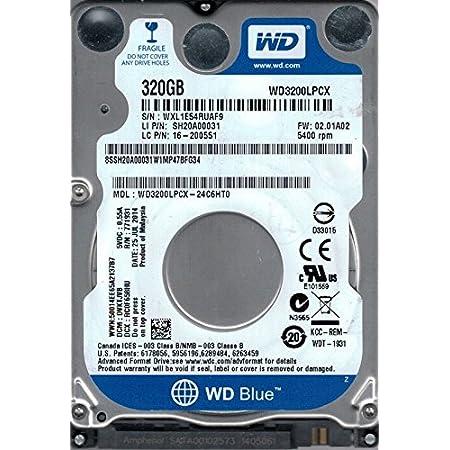 WD3200LPCX-24C6HT0 DCM DVKTJVB WXL1E Western Digital 320GB