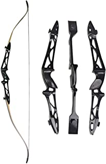 """MILAEM 66"""" 68"""" 70"""" Archery Takedown Recurve Bow Aluminum Bow Riser Hunting Shooting Target Practice Competition Longbow Right Hand Bow 12-40 Lbs"""