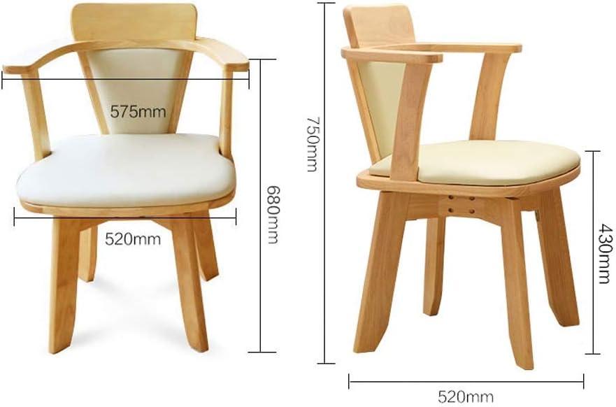 WDX Chaise de salle à manger, simple chaise de bureau, dossier créatif, chaise de loisirs, chaise de salle à manger pour adulte, mode (couleur : A) B