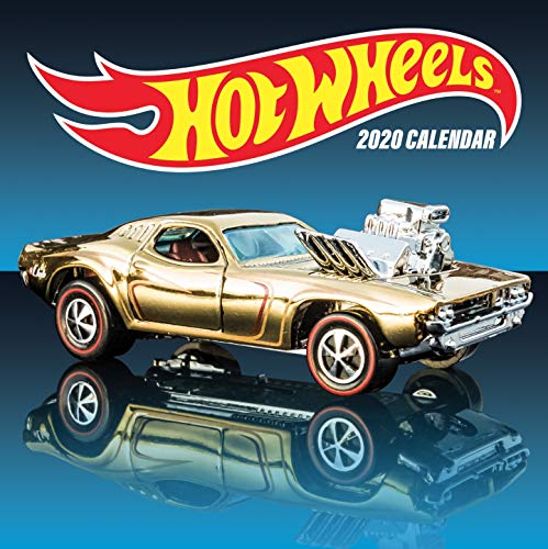 Mattel: Hot Wheels 2020 Wall Calendar