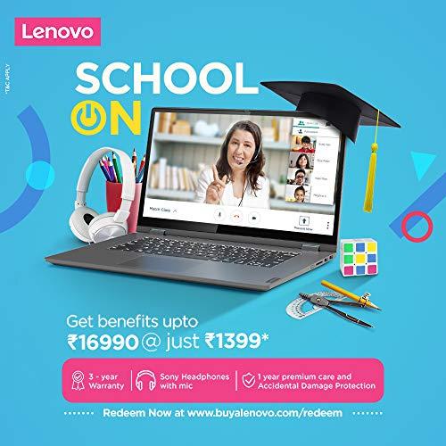 Lenovo IdeaPad C340 81TK008HIN 14-inch FHD IPS Convertible Laptop (10th Gen CORE I3-10110U/8GB/512GB SSD/Windows 10/Microsoft Office/Integrated Graphics), Platinum