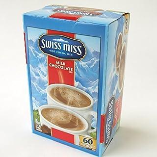 SwissMiss スイスミス ミルクチョコレートココア 28g×60袋×96箱 ConAgraFoods Hot Cocoa Mix インスタントココア