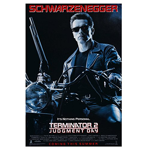 Film Kult klassischen Film Foto Poster 350mm 700mm oder 1000mm Art Wand customise4utm, Papier, terminator 2 poster, 700 mm