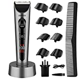 Hair Clippers for Men, DIOZO Professional Hair Trimmer Set Cordless Rechargeable Led Display