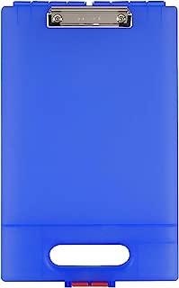 Dexas Clipcase Storage Clipboard with Handle, Blue
