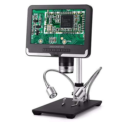 JJGS USB High-Definition-Elektronenmikroskop mit Bildschirm, geeignet für Handy-Platine Motherboard Reparatur PCD-Schweißen