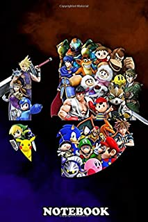 Notebook: Super Smash Mix , Journal for Writing, College Ruled Size 6