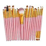 Brocha de maquillaje Nuevopincel de maquillaje12piezas profesional mezclado sombra de ojos cepillo de cejas maquillaje conjunto de belleza