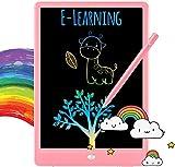 Tableta de escritura LCD, Tableta de dibujo colorida para niños pequeños, Tabletas de dibujo electrónicas reutilizables y borrables, Juguete educativo y de aprendizaje juguete niño 2 3 4 5 6 7años