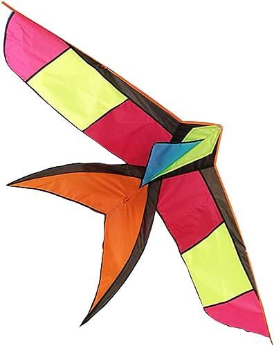 Caixia Kite, bunter Schluckendrachen für Anf er am Meer - Spielzeuge für Kinder (Größe   Kite only)