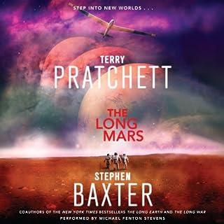 The Long Mars audiobook cover art
