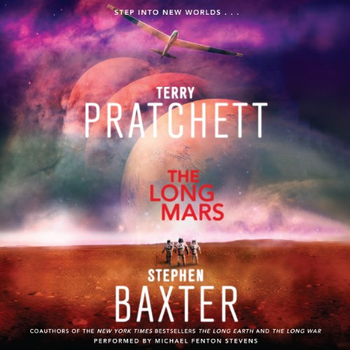 The Long Mars audiobook cover art