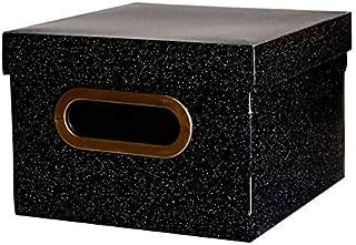 Caixa Organizadora Dello PP 20X20X14,5cm Secrets Preta 2202.P.0005 28361