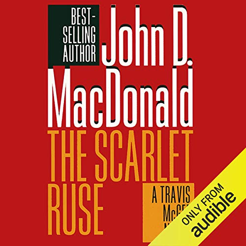 The Scarlet Ruse audiobook cover art