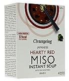 Clearspring - Sopa de miso instantánea con vegetales marinos, 40 g...