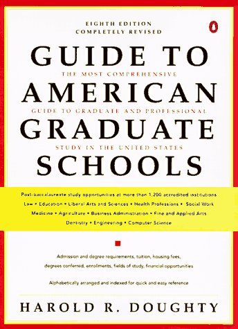 Guide To American Graduate Schools Eighth Revised Edition