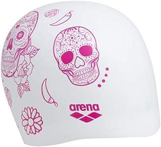ARENA Reversible Cap Swim Caps, Adultos Unisex, Naranja, TU