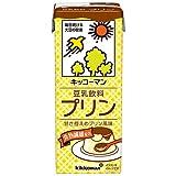 キッコーマン 豆乳飲料 プリン 200ml紙パック×18本入×(2ケース)