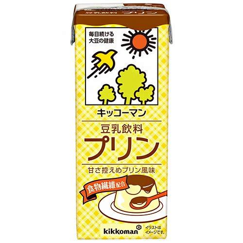 豆乳飲料 プリン 200ml×18本 紙パック