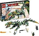 LEGO NINJAGO Movie Green Ninja Mech Dragon 70612 Ninja Toy with Dragon Figurine Building Kit (544 Pieces) (Discontinued by Manufacturer)
