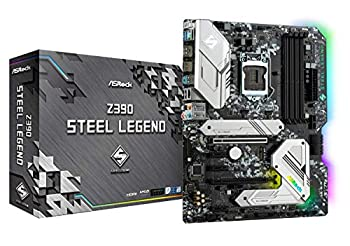 ASRock Intel 8th & 9th Generation CPU  Soket 1151  Z390 Chipset ATX Motherboard Z390 Steel Legend