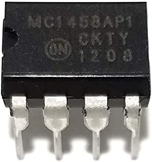 ON Semiconductor Juried Engineering MC1458AP MC1458 Dual Operational Amplifier (Pack of 5)