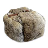 THEE Hommes Chapeau d'hiver Bonnet Chaud Casquette Russe (Kaki)
