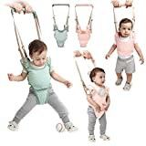 Handheld Baby Walker Kids Toddler Walking Baby Toys Adjusted Baby Learning Walker Harness Keeper Walking Belt Walk Assistant,Great Gift for 7-24 Months Baby (Pink)