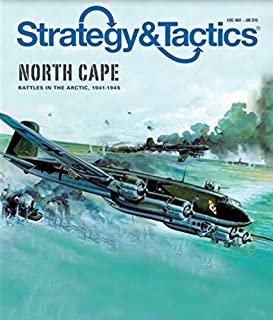 DG: Strategy & Tactics Magazine #292, with North Cape, Arctic Convoy Battles, Board Game