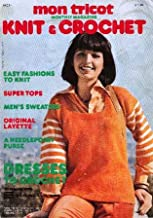 Mon Tricot Knit & Crochet Monthly Magazine, April 1976