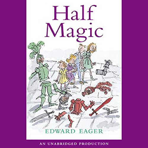 Half Magic audiobook cover art