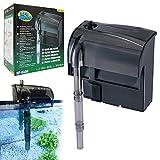 BPS (R Filtro Profesional Acuario,Filtro Externo de Mochila para Pecera,Ahorro de Energía.(4 W,350L/H) BPS-6022