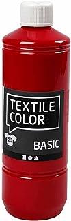 Teinture textile Rouge primaire 500ml